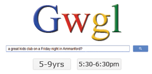Gwgl Friday Kids club ages 5 - 9 years