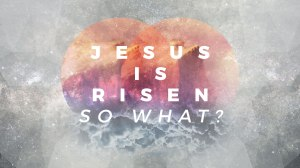 Jesus is Risen: So What?